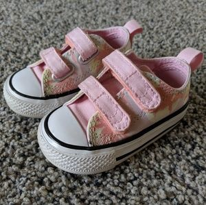 Baby Girl Converse (size 3)